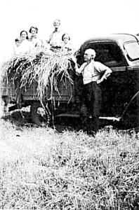 an-english-refugee-family---christie-family-with-a-load-of-hay-copy